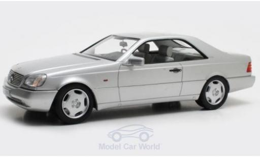 Mercedes 600 1/18 Cult Scale Models SEC (C140) grey 1992 diecast model cars