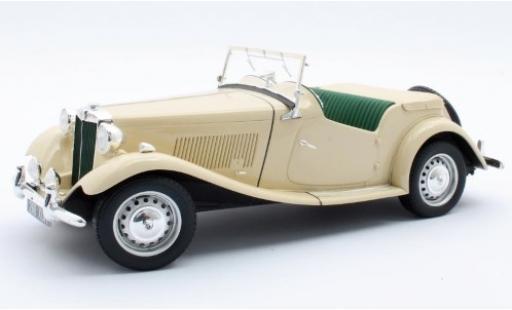 MG TD 1/18 Cult Scale Models beige RHD 1953 miniature