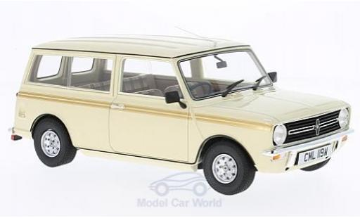 Mini Clubman 1/18 Cult Scale Models Estate beige/beige RHD 1974 ohne Vitrine miniature
