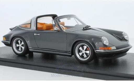 Porsche 911 1/18 Cult Scale Models Targa metallise grey Singer diecast model cars