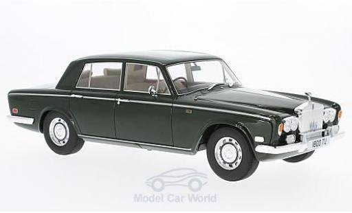 Rolls Royce Silver Shadow 1/18 Cult Scale Models verte RHD 1975 ohne Vitrine miniature
