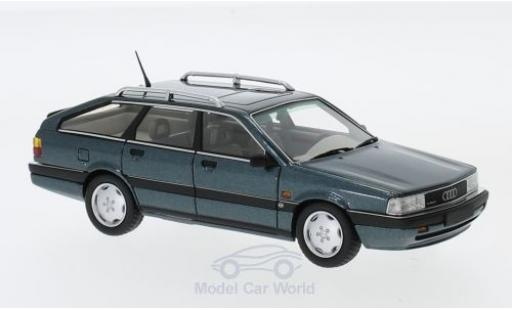 Audi 200 1/43 DNA Collectibles Avant 20V Quattro metallic-türkis 1991 miniatura