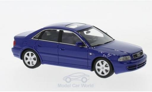 Audi S4 1/43 DNA Collectibles (B5) bleue 1997 miniature