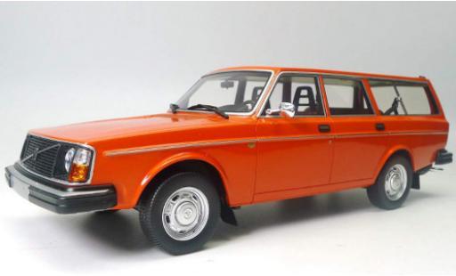 Volvo 245 1/18 DNA Collectibles DL orange 1975 miniature