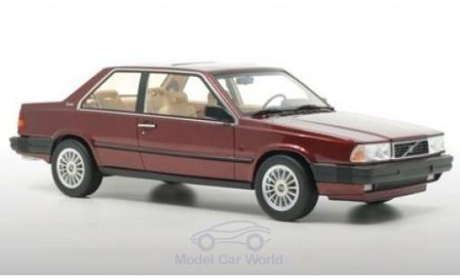 Volvo 780 1/18 DNA Collectibles Bertone metallise rouge 1986 miniature