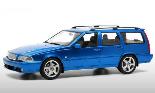 Volvo V70 1/18 DNA Collectibles R AWD (Typ L P80) metallise bleue 1999 miniature