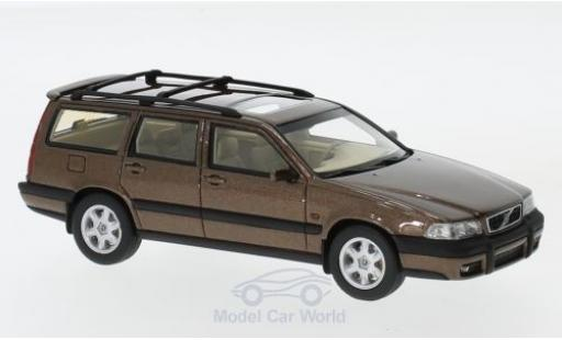 Volvo V70 1/43 DNA Collectibles XC metallise beige 1997 diecast model cars