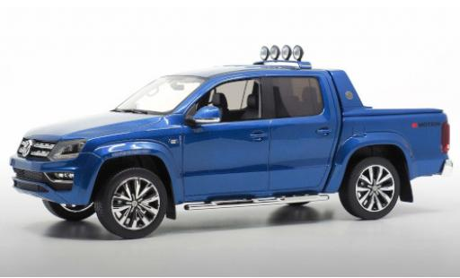 Volkswagen Amarok 1/18 DNA Collectibles Aventura metallise blue 2019 Dachscheinwerfer détachable