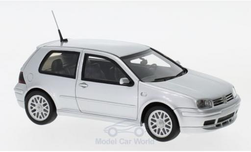 Volkswagen Golf V GTI 1/43 DNA Collectibles IV GTI gris 2002 25th Anniversary miniatura
