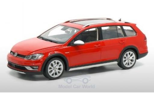 Volkswagen Golf 1/18 DNA Collectibles VII Alltrack red 2015 diecast model cars