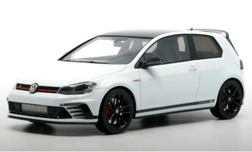 Volkswagen Golf 1/18 DNA Collectibles VII GTI Clubsport S white/black 2014 diecast model cars