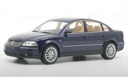 Volkswagen Passat 1/18 DNA Collectibles (B5 GP) W8 4Motion blue 2001 diecast model cars