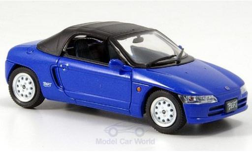 Honda Beat 1/43 Ebbro Version C bleue miniature