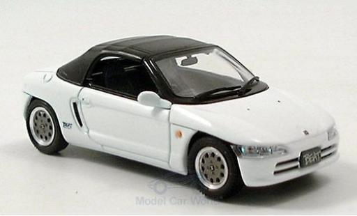 Honda Beat 1/43 Ebbro white 1991 Verdeck geschlossen diecast model cars