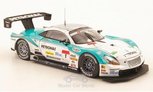 Lexus SC 430 1/43 Ebbro No.1 Petronas Super GT 500 2010 W.Juichi/L.Andre miniature