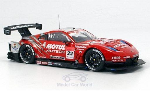 Nissan Fairlady Z 1/43 Ebbro Motul Super GT 2007 miniature
