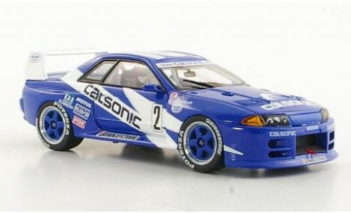 Nissan Skyline 1/43 Ebbro GT-R (R32) No.6 Calsonic JGTC Fuji 1993 M.Kageyama diecast model cars