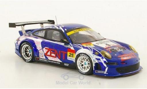 Porsche 997 GT3 RSR 1/43 Ebbro 911  No.25 Zent Super GT 300 2011 A.Tsuzuki/T.Tsuchiya modellautos