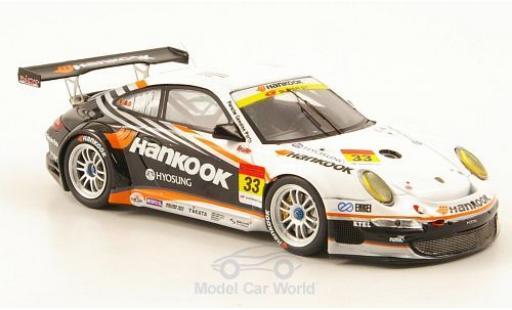 Porsche 997 GT3 1/43 Ebbro 911  No.33 Hankook Super 00 2010 M.Kinoshita/M.Kageyama/T.Fujii coche miniatura