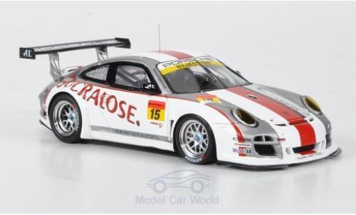 Porsche 997 SC 1/43 Ebbro GT3 R No.15 Sucralose Super GT 300 2011 miniature