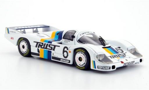 Porsche 956 1/43 Ebbro No.6 Trust WEC Japan 1983 diecast model cars