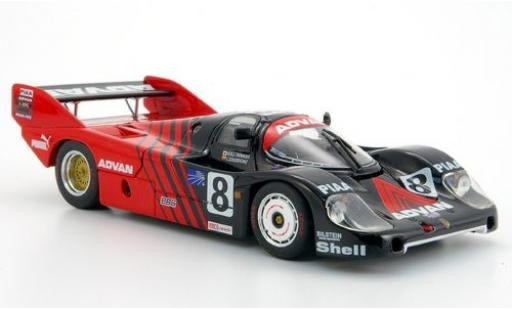 Porsche 956 1/43 Ebbro No.8 Advan Advan WEC Japan 1983 diecast model cars