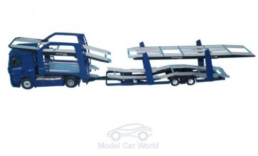 Mercedes Actros 1/43 Eligor 2 blue Mercurio France Autotransporter diecast model cars