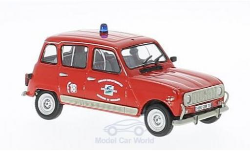 Renault 4 1/43 Eligor TL SDIS Frankreich mit Figur ohne Vitrine diecast model cars