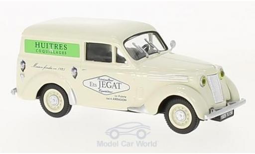 Renault Juvaquatre 1/43 Eligor Huitres Jegat (F) modellino in miniatura