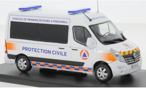 Renault Master 1/43 Eligor Kasten Premiers Secours - Predection Civile 2014 diecast model cars