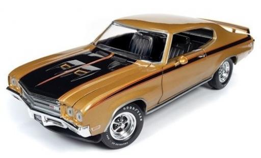 Buick GS 1/18 Ertl X gold/noire 1971 miniature