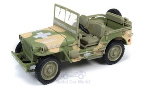 Jeep Willys 1/18 Ertl MB oliv 1941 Sanitäter miniature