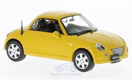 Daihatsu Copen 1/43 First 43 Models jaune RHD 2004 miniature