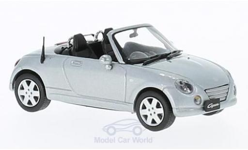 Daihatsu Copen 1/43 First 43 Models grise RHD 2004 miniature