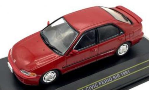 Honda Civic 1/43 First 43 Models Ferio SiR rouge RHD 1991 miniature