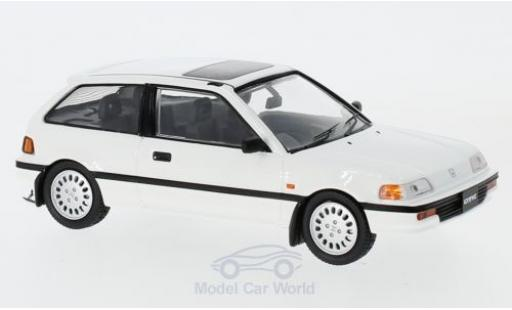 Honda Civic 1/43 First 43 Models blanche RHD 1987 miniature