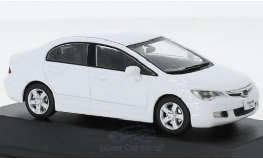 Honda Civic 1/43 First 43 Models blanche RHD 2006 miniature