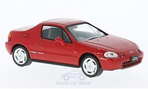 Honda CR-X 1/43 First 43 Models DelSol rouge RHD 1992 miniature