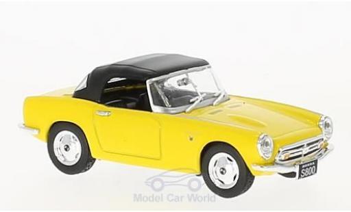 Honda S800 1/43 First 43 Models jaune RHD 1966 geschlossen miniature