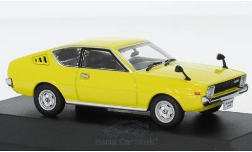 Mitsubishi Lancer 1/43 First 43 Models Celeste jaune RHD 1975 miniature