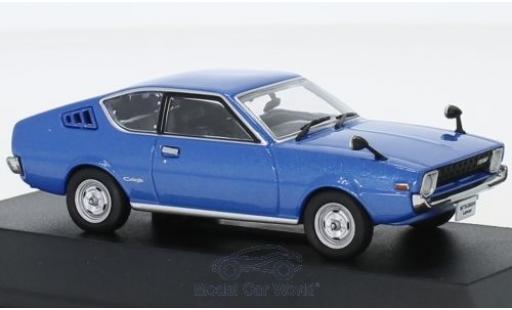 Mitsubishi Lancer 1/43 First 43 Models Celeste metallise bleue RHD 1975 miniature