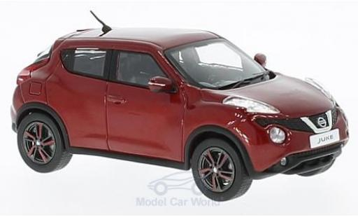 Nissan Juke 1/43 First 43 Models metallic-rouge RHD 2015 miniature