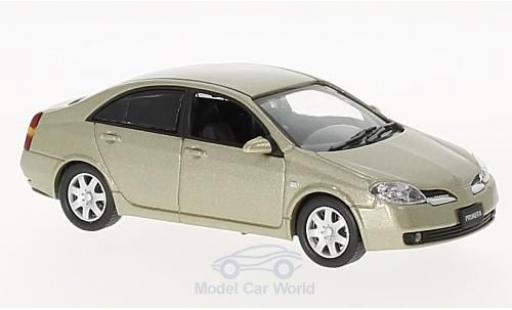 Nissan Primera 1/43 First 43 Models gold RHD 2001 miniature