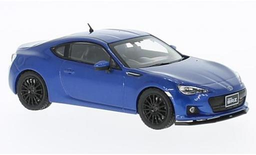 Subaru BRZ 1/43 First 43 Models STI tS metallise bleue RHD 2013 miniature