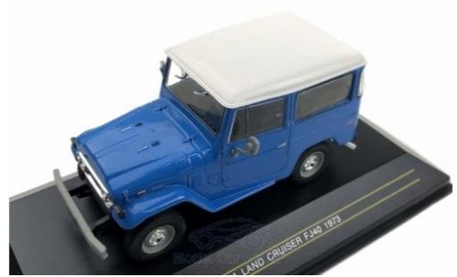 Toyota Land Cruiser 1/43 First 43 Models FJ 40 bleue 1973 miniature