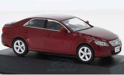 Toyota Mark 1/43 First 43 Models -X metallise rouge RHD 2012 miniature