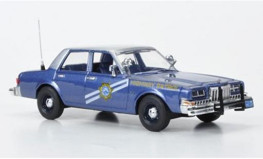 Dodge Diplomat 1/43 First Response Nevada Highway Patrol 1985 miniature