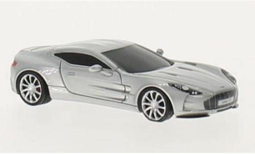 Aston Martin One 1/87 FrontiArt -77 grise miniature
