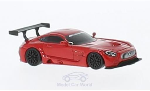 Mercedes AMG GT 1/87 FrontiArt 3 rouge miniature
