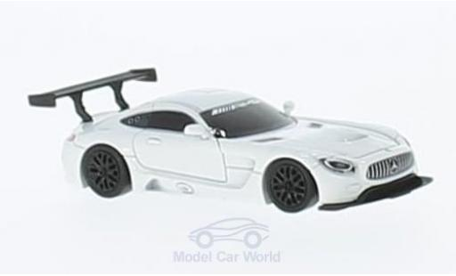 Mercedes AMG GT 1/87 FrontiArt 3 blanche miniature
